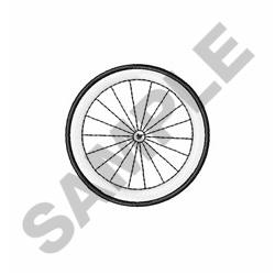 Bicycle Tire embroidery design