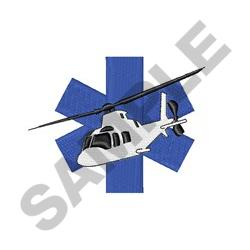 Emergency Care Flight embroidery design
