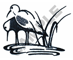 WADING GULLS embroidery design