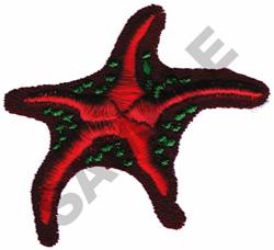 STARFISH (PUFFY FOAM) embroidery design