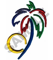 PALM TREE (PUFFY FOAM) embroidery design