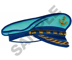 NAUTICAL HAT embroidery design