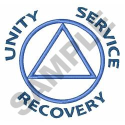 UNITY SERVICE RECOVERY embroidery design
