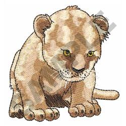 LION CUB embroidery design