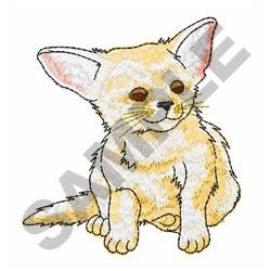 FENNEC embroidery design