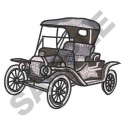MODEL T CAR embroidery design