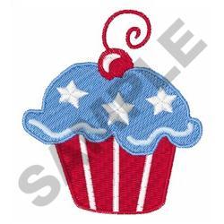 AMERICANA CUPCAKE embroidery design