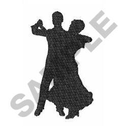BALLROOM DANCERS embroidery design