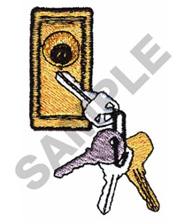 LOCKSMITH embroidery design