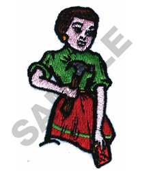 FIX IT LADY embroidery design