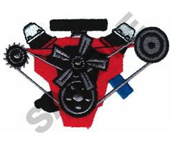 MOTOR embroidery design