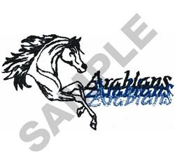 ARABIANS embroidery design