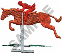 EQUESTRIAN OBSTACLES embroidery design