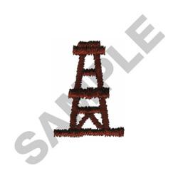 OIL PLATFORM embroidery design