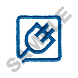 ELECTRICAL LOGO embroidery design