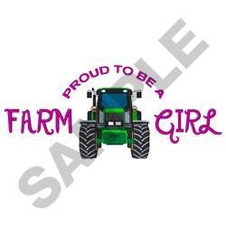 Farm Girl embroidery design