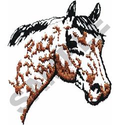 SMALL HORSE HEAD embroidery design