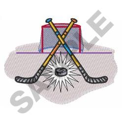 HOCKEY MONTAGE embroidery design