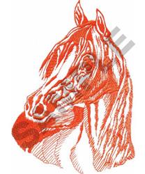 ARABIAN BUST embroidery design