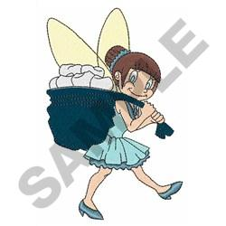 TOOTH FAIRY AT WORK embroidery design