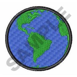 SMALL EARTH embroidery design