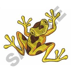 LITTLE FROG embroidery design
