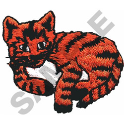 SMALL CAT embroidery design