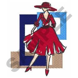 CLASSIC FASHION MODEL embroidery design