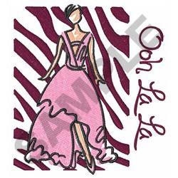 OOH LA LA embroidery design
