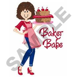 BAKER BABE embroidery design