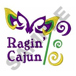 RAGIN CAJUN embroidery design