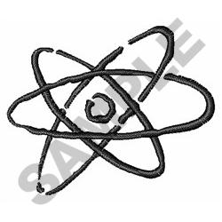 NUCLEAR ENERGY embroidery design