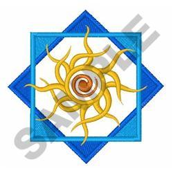 TRIBAL SUN embroidery design