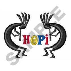 HOPI INDIANS embroidery design
