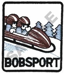 BOB SPORT embroidery design