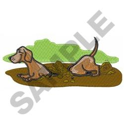 how to stop a dachshund from digging