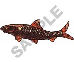 BONE FISH embroidery design
