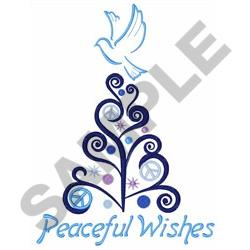 PEACEFUL WISHES embroidery design