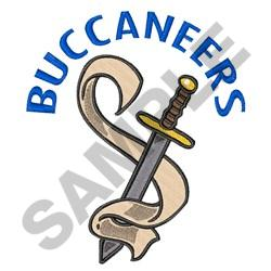 BUCCANEERS embroidery design