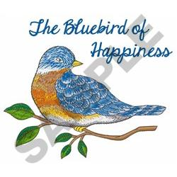 BLUEBIRD OF HAPPINESS embroidery design