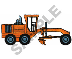 PLOW embroidery design