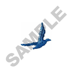BIRD SILHOUETTE embroidery design