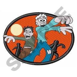 ZOMBIES embroidery design