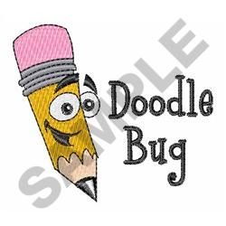 DOODLE BUG embroidery design