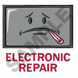 ELECTRONIC REPAIR embroidery design