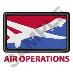 AIR OPERATIONS embroidery design