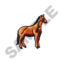 SMALL HORSE embroidery design