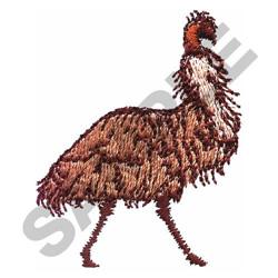 EMU embroidery design