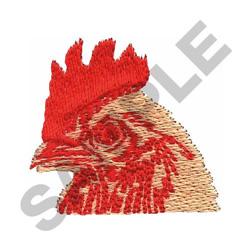 CHICKEN HEAD embroidery design