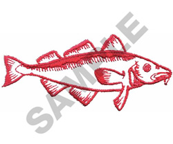 CARP embroidery design